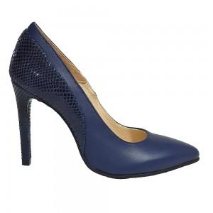 Pantofi Stiletto Bleu Petrol