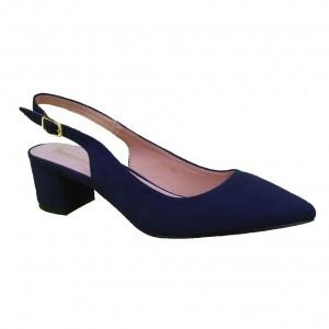 Pantofi Bleumarin Decupati