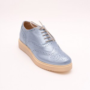 Casual Blue shoes with laces