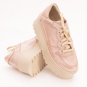 Pantofi Roz cu Platforma