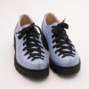 Pantofi Bleu cu Siret