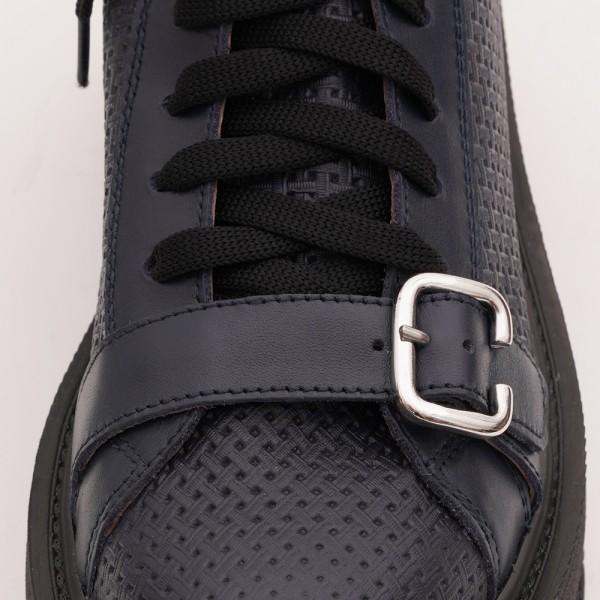 Pantofi Bleumarin cu Siret