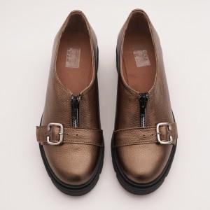 Pantofi Casual Bronz