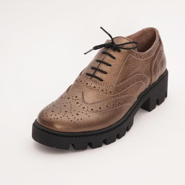 Pantofi Maro cu Siret