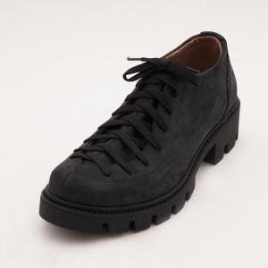 Pantofi Bleumarin inchis  cu Siret