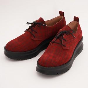 Pantofi Rosii cu Siret