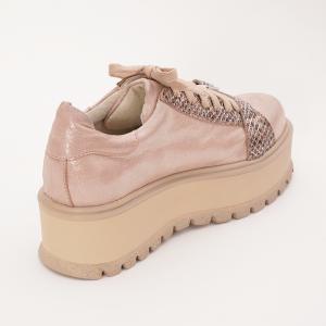 Pantofi Roz cu Siret