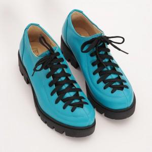 Pantofi Turcoaz cu Siret