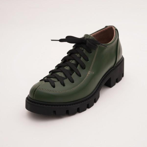 Pantofi Verzi cu Siret