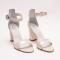 Sandale Crem cu Toc